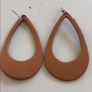 Jewelry - Nickel & Suede earrings $15 each